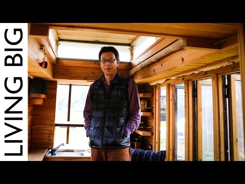 Master Craftsman In Japan Builds Amazing Tiny House On Wheels