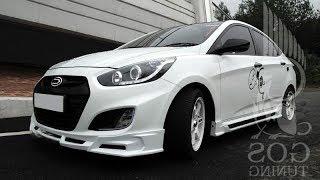 Hyundai Solaris Тюнинг смотреть