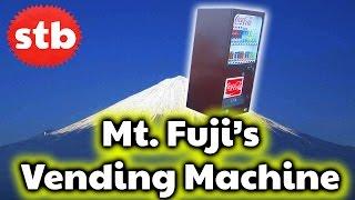 Crazy Vending Machine on the Top of Mt. Fuji, Japan ★ SoloTravelBlog