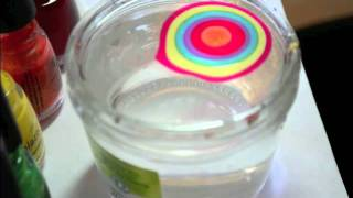 comment faire water marble