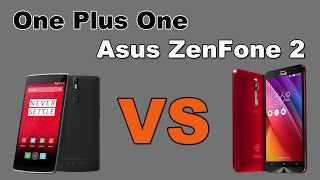 Битва смартфонов One Plus One vs Asus ZenFone 2