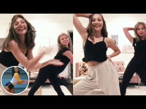 Maddie Ziegler and Lilia do the Riverdale Dance Off