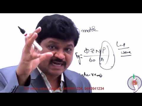 SAIMEDHA VIDEO CLASSES   SUB ENGINEER TRANSCO PREPARATION BY DIRECTOR Dr G RAMANAa