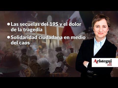 #AristeguiEnVivo #19S: las secuelas del sismo y la solidaridad de los damnificados