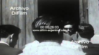 DiFilm - Augusto Vandor se reune con Isabel de Peron 1966