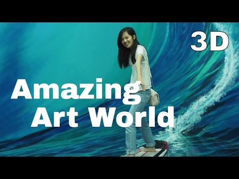 Bandung - ANEH tapi Nyata, 3D Amazing Art World