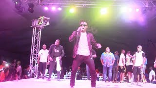 Mayorkun's Performance At The Freestyle Football 2018 African Championship