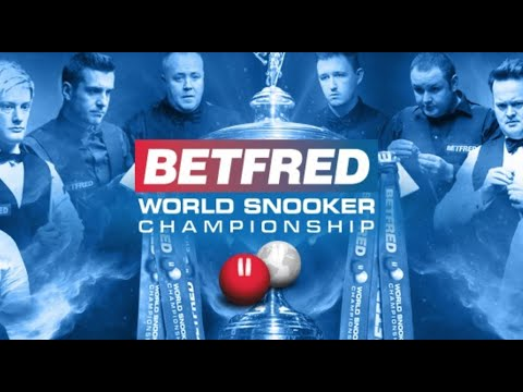 2021 Betfred World Championship Draw