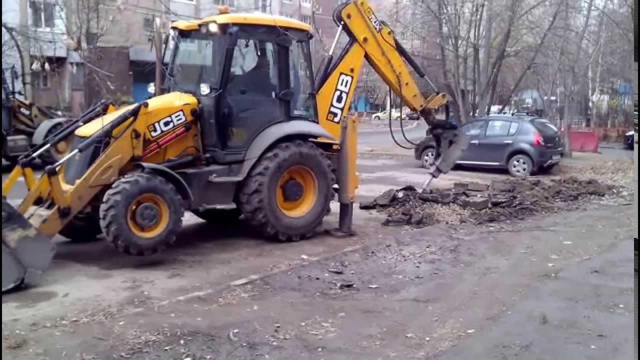 Аренда полноповоротного экскаватора JCB 160