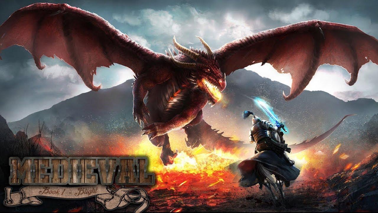 картинки нападающие драконы рыцари первую