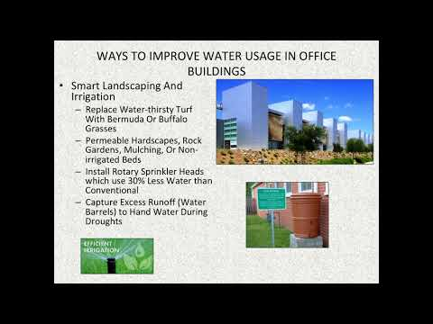 Business of Water Conservation
