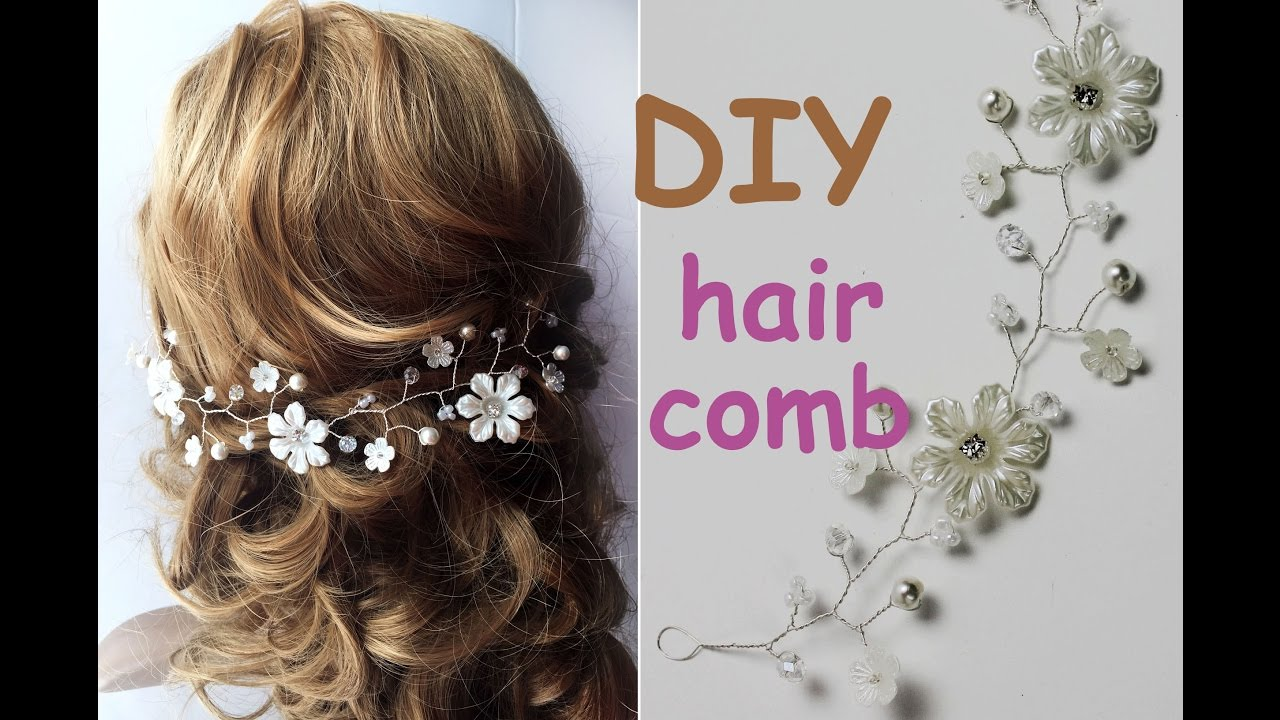 Easy diy hair comb tiara bridal headpiece hair vine tutorial crown easy diy hair comb tiara bridal headpiece hair vine tutorial crown youtube solutioingenieria Image collections