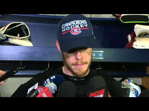 montreal canadiens 2015 - lars Eller interview - Training camp interview #3