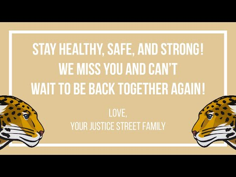 Justice Street Academy Charter We Miss You Video