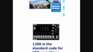 Transponder, Squawk Codes. 1200, 7500, 7600, and 7700. Andreas Rosquist
