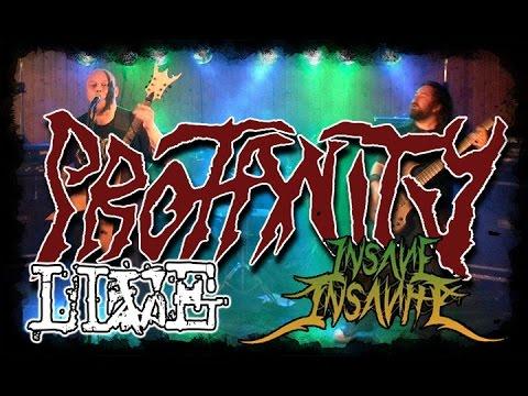Profanity - Live - Insane Insanity #8 - 25.04.2015 - Dani Zed - Death Metal