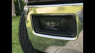 Morimoto XB LED Fog Light Unboxing Installation 2014-2015 Chevrolet Silverado The Easy Way