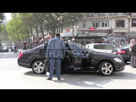 EXCLUSIVE - Jason Statham And Rosie Huntington Whiteley In Paris