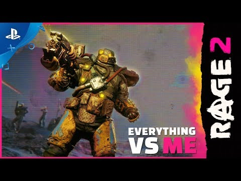 Rage 2 - Everything vs. Me Trailer   PS4