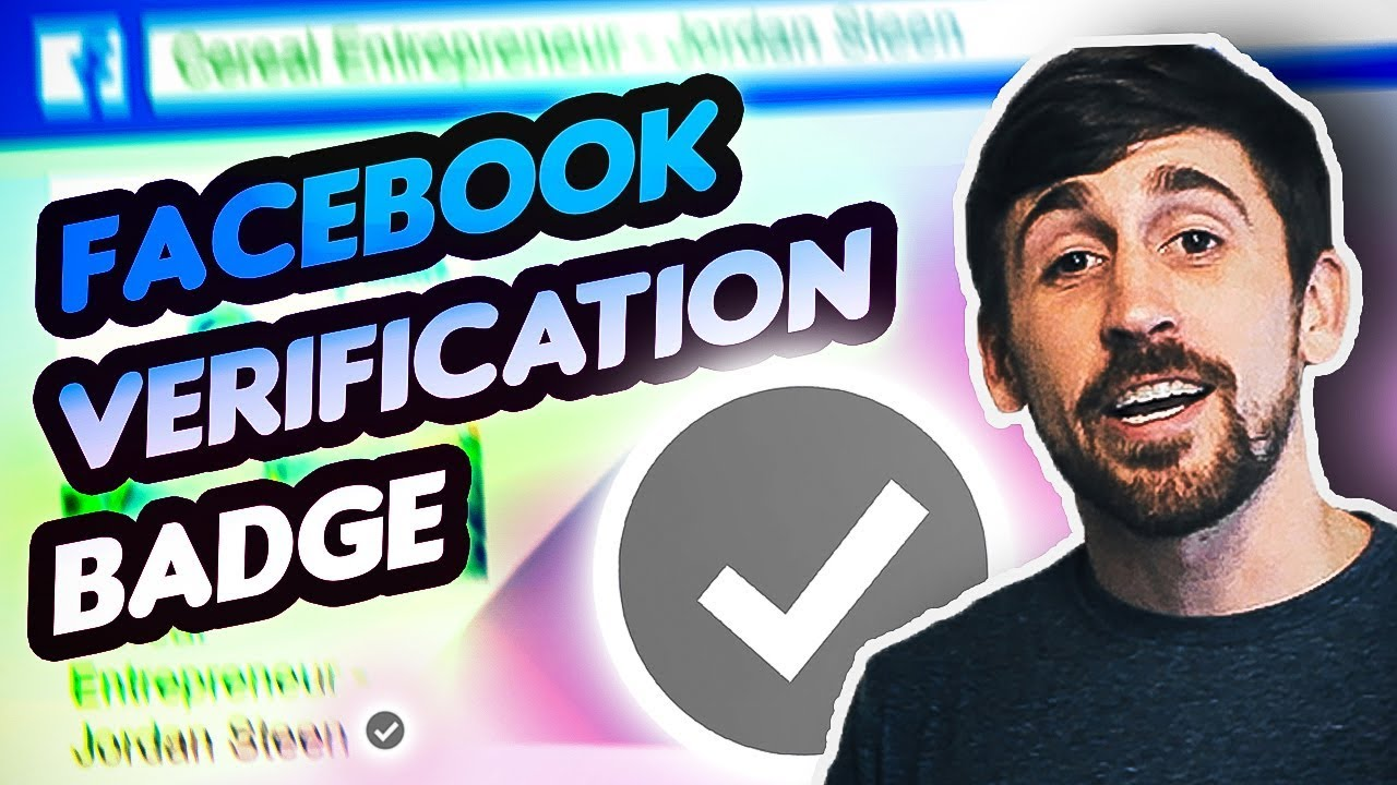 How to Get the Grey or Blue Checkmark on Facebook - Facebook Verification  Badge