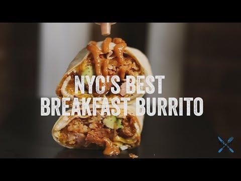 NYC's Best Breakfast Burrito