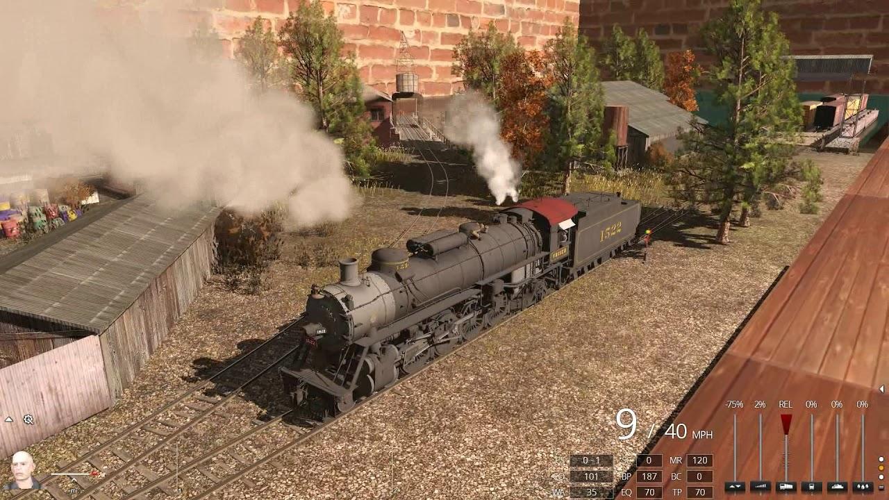 Trainz TRS19 Frisco T54 4-8-2 #1522