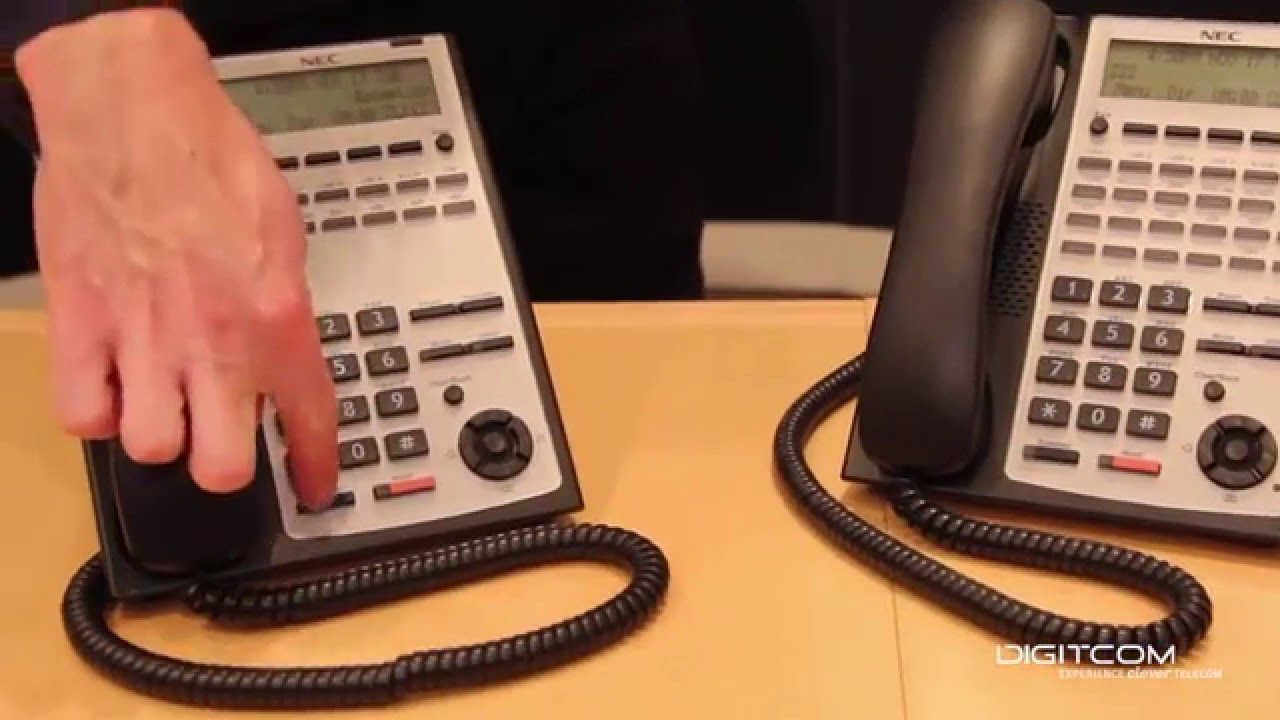 How to Use Set Relocation Feature on NEC Phone | Digitcom Canada