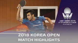 Fang Bo vs Can Akkuzu | 2018 Korea Open Highlights (Pre)
