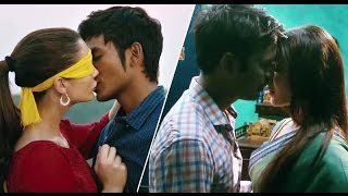 Amy jackson & samantha hot liplocks with dhanush in nava manmadhudu movie official trailer