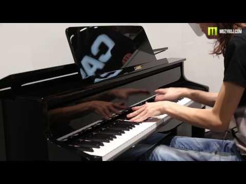Nagrania dla muzykuj.com – Casio GP 500  – musikmesse 2017 gra: Kamil Barański www.muzykuj.com
