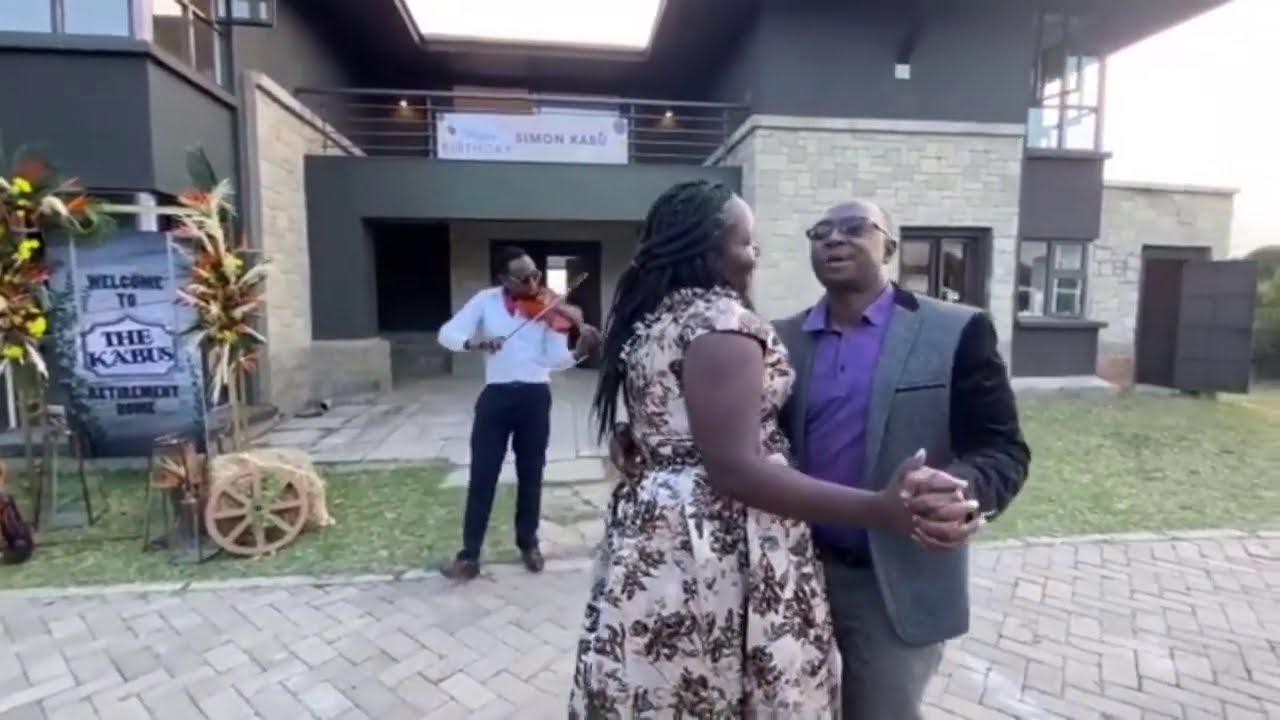 The power couple Simon and Sarah Kabu take surprises to a new level #SimonKabu #SarahKabu