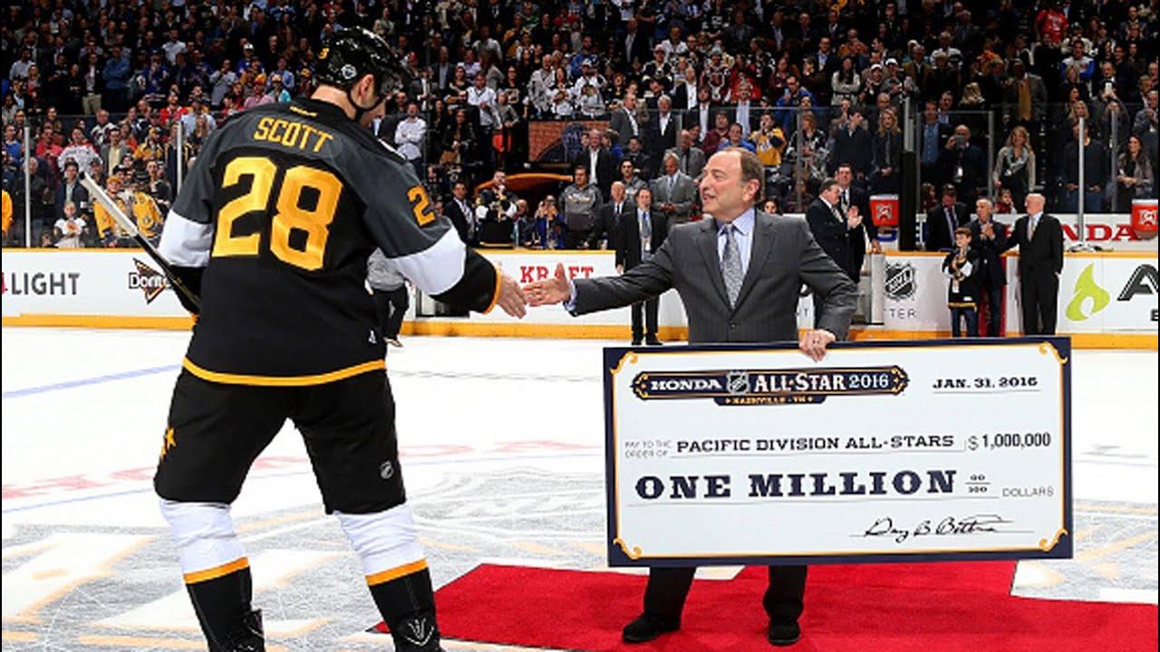 John Scott wins 2016 NHL All-Star MVP - YouTube ca3c7cdd6