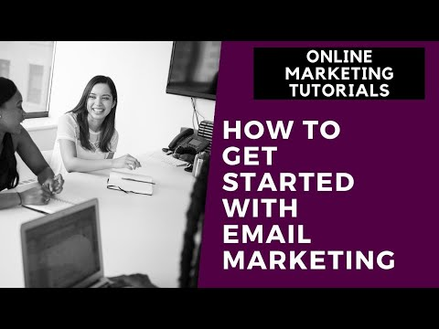 Online Marketing Tutorial For Beginners Part 7 | How to Get Started With Email Marketing thumbnail