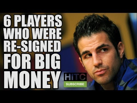 6 Players Who Were Re-Signed For BIG Money After Being Let Go
