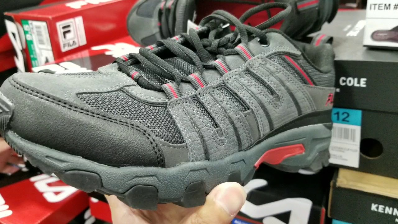 Costco! FILA Men's Hiking Shoes (GreyRed)! $19!!!