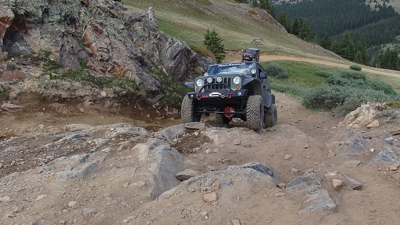 Jeep Wrangler JK 4x4 Adventure Colorado Offroad Red Cone U0026 Radical Hill  Trail