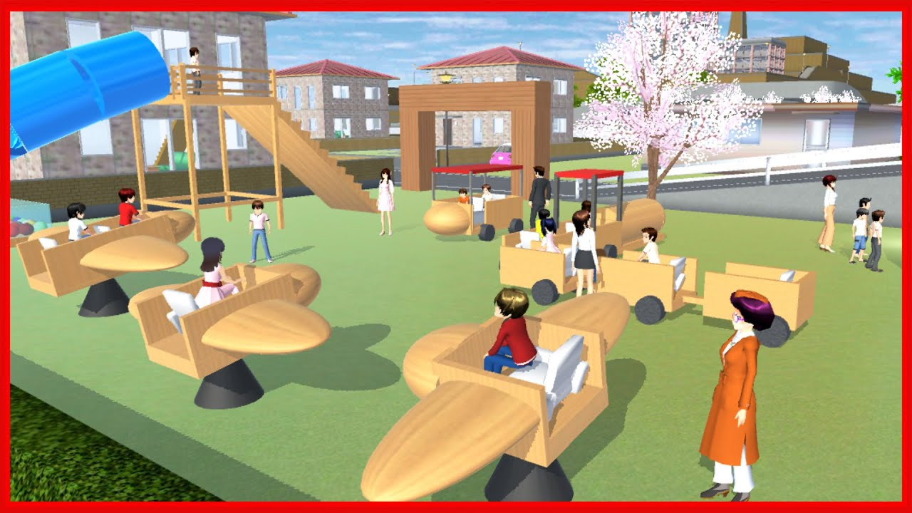 Playground for Kids at the Park || SAKURA School Simulator