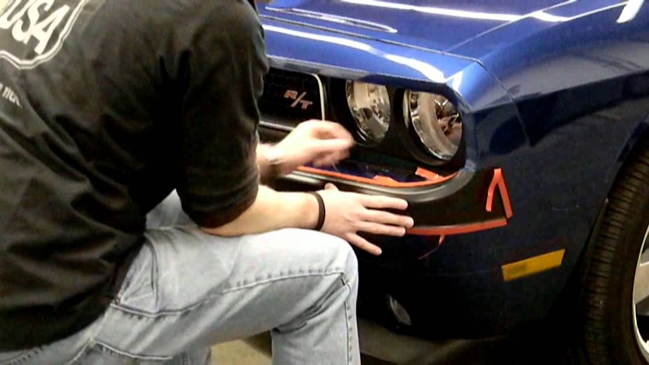Retro USA: Challenger Front Bumper Installation - YouTube