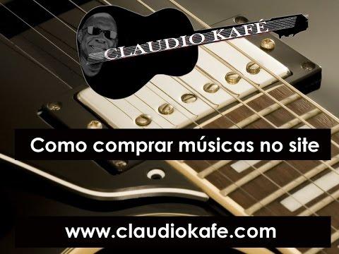 Claudio Kafe - Como Comprar Músicas MP3
