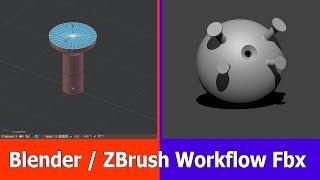 Blender / ZBrush Workflow Tutorial