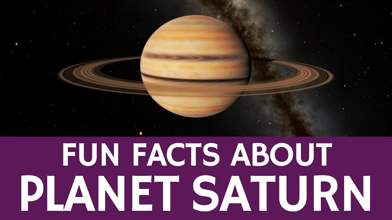 Interesting Saturn Facts for Kids – Educational Astronomy ...
