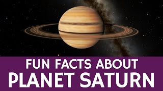 Interesting Saturn Facts for Kids – Educational Astronomy and Space Video