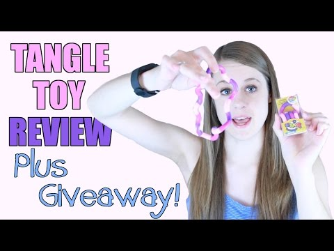 Tangle Toy Review + Giveaway!!! OPEN