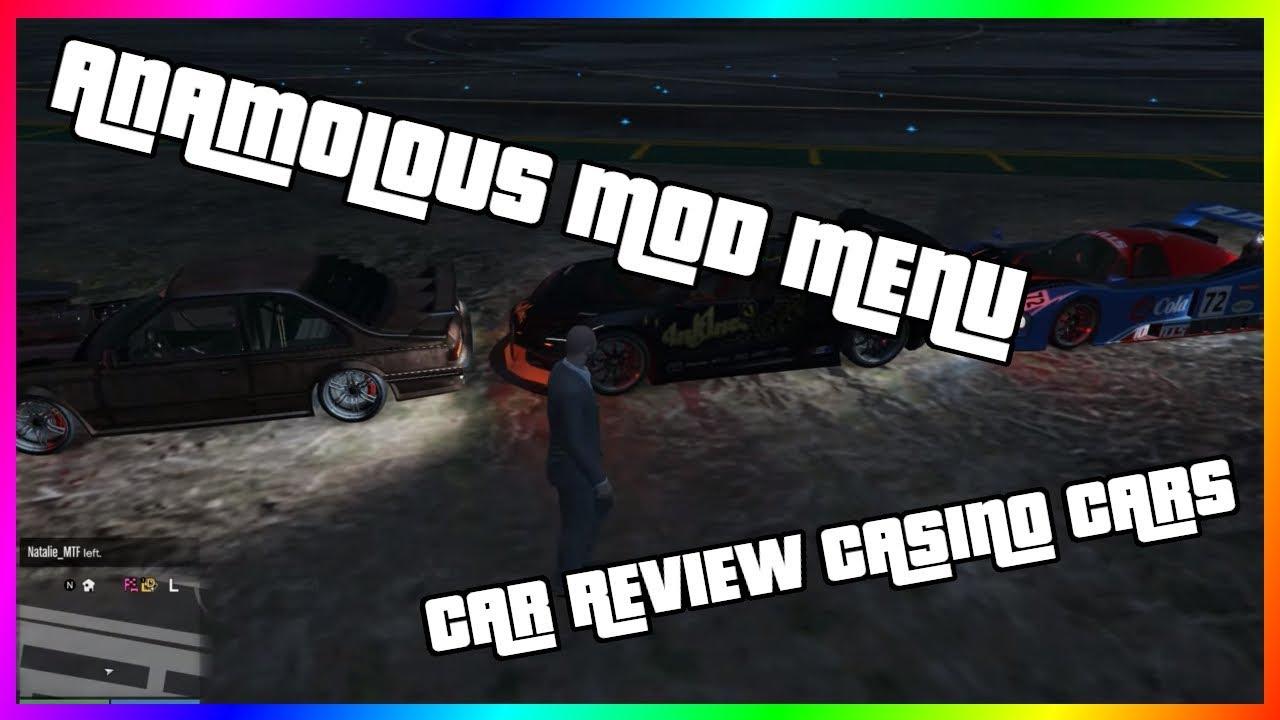 Mod Menu (Anomalous) | GTA V Casino Car Review