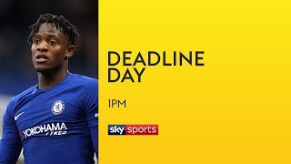 Michy Batshuayi to leave Chelsea on loan - Real Betis, West Ham or Everton? | Transfer Deadline Day