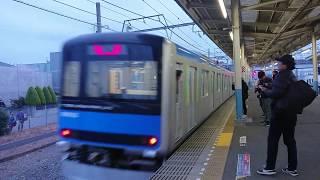 【東武】南栗橋駅 61603F返却回送発車【日光線】