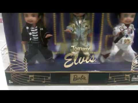 BARBIE COLLECTOR TOMMY AS ELVIS DOLL BOX VIEW