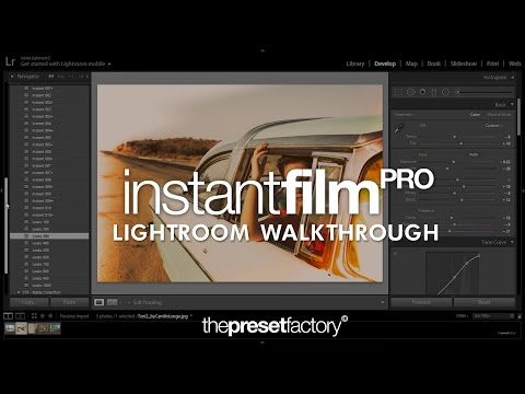 The Preset Factory | Instant Film PRO - Lightroom Walkthrough