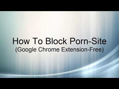 HOW TO BLOCK PORN SITES IN YOUR COMPUTER WITHOUT USING ANY SOFTWARE from YouTube · Duration:  3 minutes 8 seconds