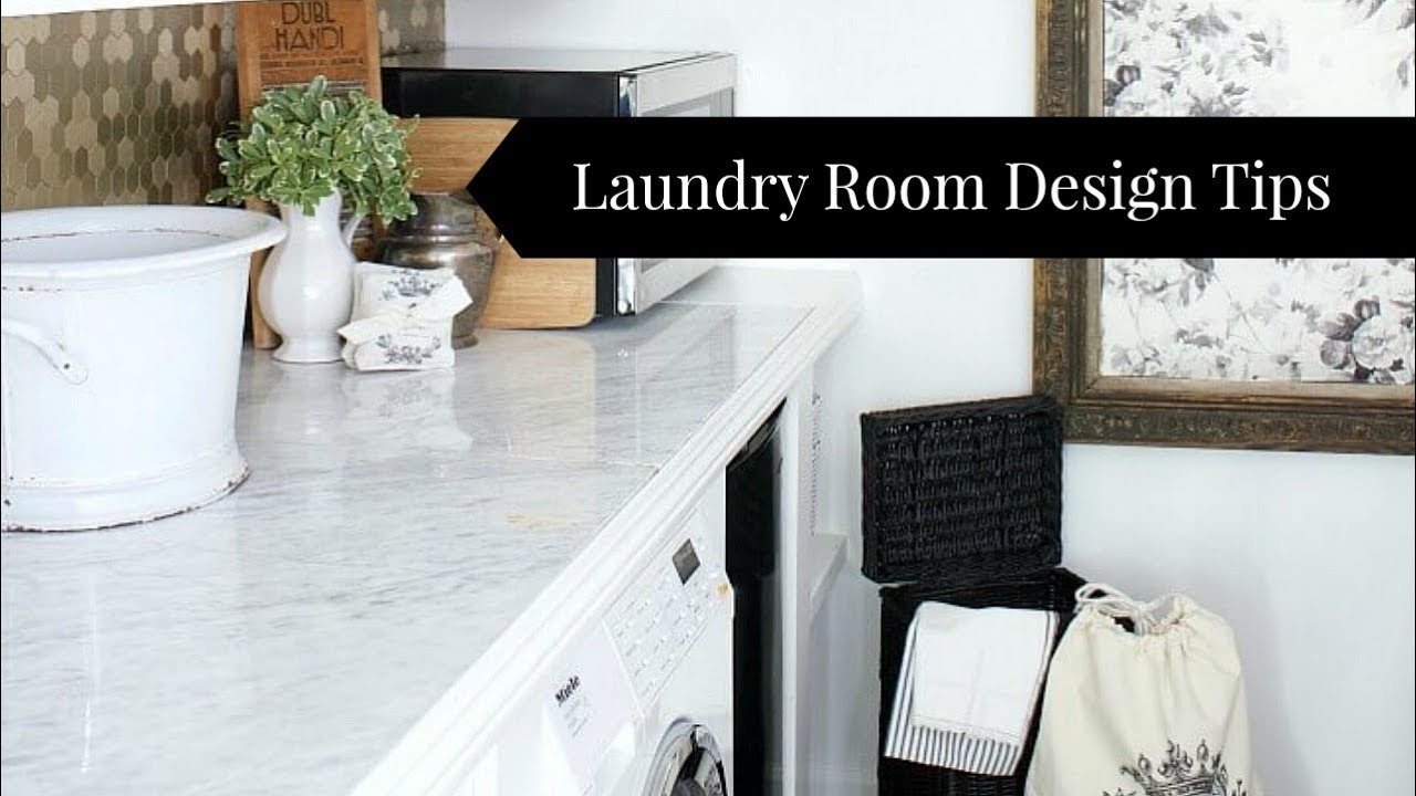 How To Design A Laundry Room Youtube